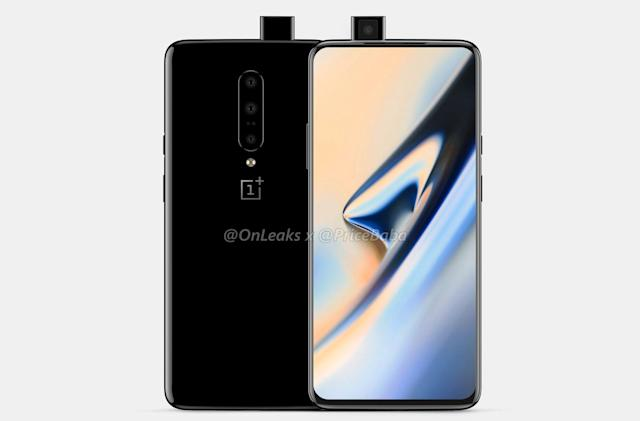 OnePlus 7 images hint at pop-up selfie camera