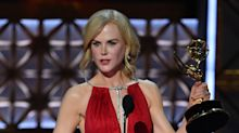 Why didn't Nicole Kidman thank her two kids with Tom Cruise at the Emmys?