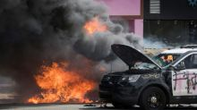 Curfews and clashes as US race protests escalate
