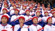 North Korean cheerleader applauds ... the U.S.?