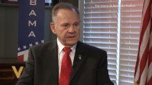 Judge Roy Moore avoids spotlight ahead of Alabama Senate vote