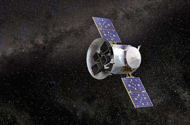 NASA's TESS spacecraft begins its search for exoplanets