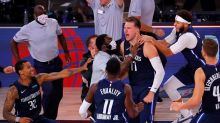 Doncic hits long 3 at OT buzzer to lift Mavs past Clippers