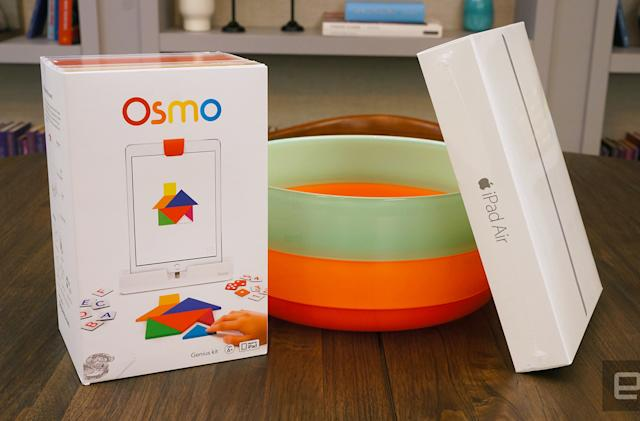 Engadget giveaway: Win a Genius Kit and iPad Air 2 courtesy of Osmo!