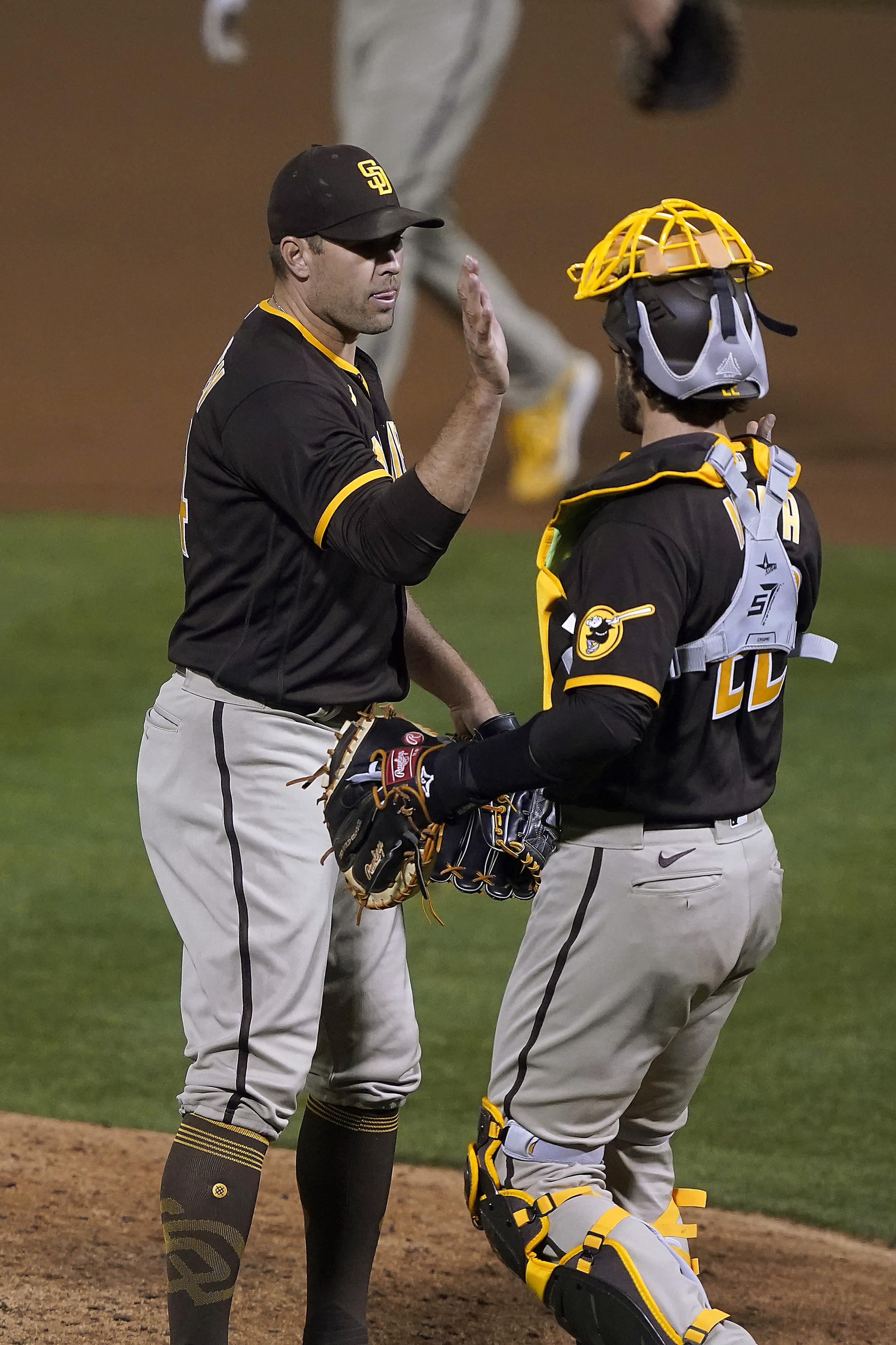 Padres Athletics Baseball