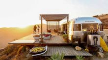 The Malibu Dream Airstream campsite is a paradise for outdoor lovers