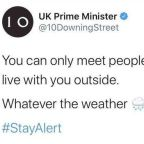 'Super Saturday' slip up: Downing Street ridiculed for tweeting wrong lockdown rules hours after restrictions eased
