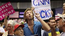 Trump rallies his base — and his base rallies for him