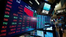 Global stock markets ease as economic skies darken