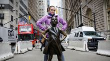 New York's 'Fearless Girl' to stare down the Stock Exchange