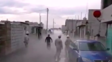 El héroe sin capa que salvó a su perrito de una nube de gas en Puebla