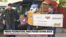 Former captain Mike Fisher, Predators Foundation give back to community
