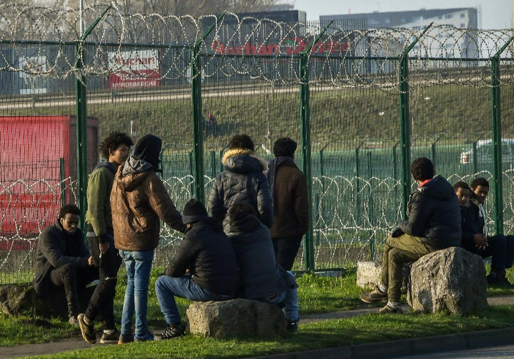 Migrants regularly attempt to reach British shores from Calais (AFP Photo/PHILIPPE HUGUEN)