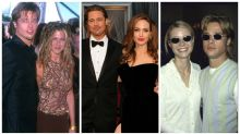 People can't believe how much Brad Pitt morphs into his girlfriends