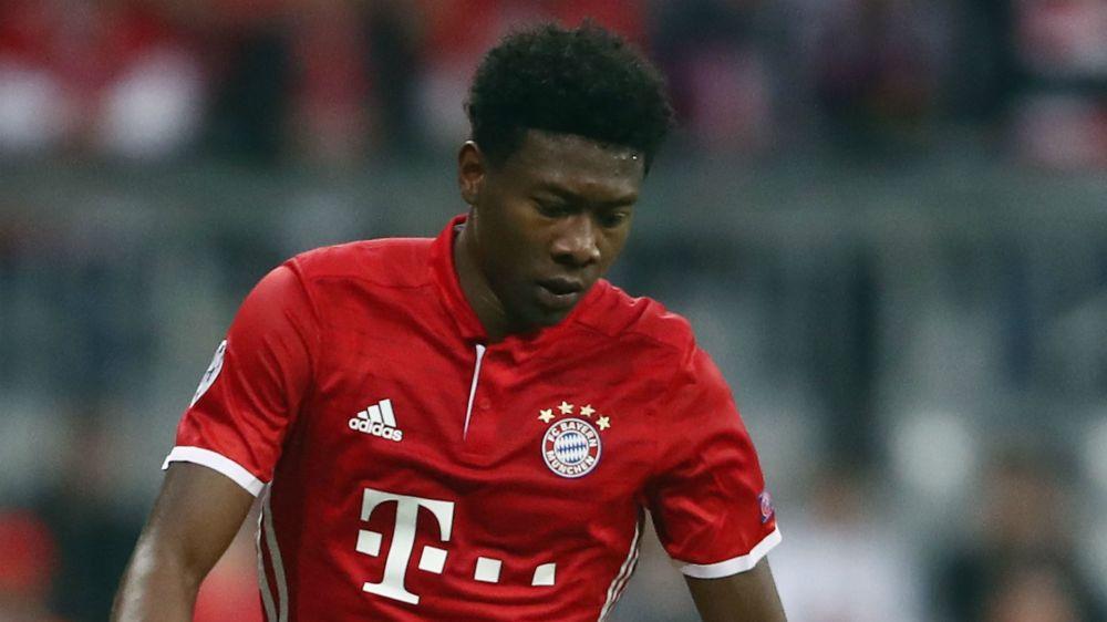 Bayern defender Alaba a doubt for Pokal semi