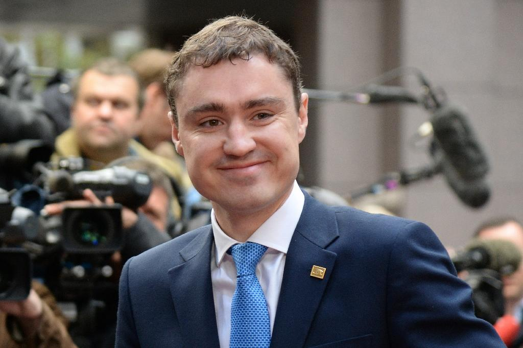 Reform leader and outgoing Estonian Prime Minister Taavi Roivas is expected to be tasked with forming a government after the centrist party won 30 seats in the 101-member parliament (AFP Photo/Thierry Charlier)