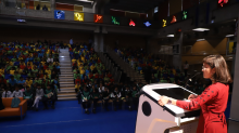 Watching 12-Year-Old Riddhima Pandey Convince an Entire School to Fight Climate Change