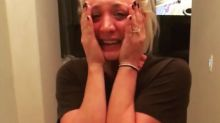 Kaley Cuoco Has Emotional Reaction to Proposal: 'Still Crying'