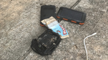 Plane makes emergency landing when phone battery catches fire