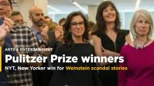Times, New Yorker win Pulitzer for Weinstein scandal