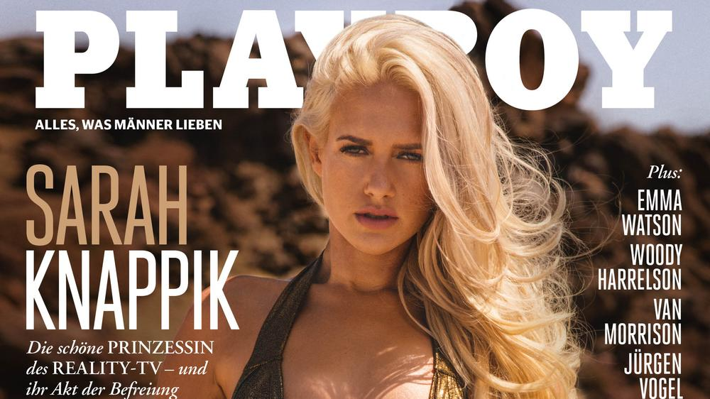 Sarah Knappik sorgt für ein doppelt heißes Playboy-Cover