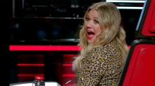 'Voice' set exclusive: Kelly Clarkson says new album is 'the reason I became a singer'