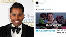 Dr. Ranj Singh shares viral tweet criticising the Tory response to the Dominic Cummings row