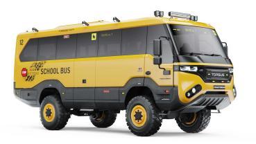 無懼任何路面和地形的強悍校車─Torsus Praetorian School Bus