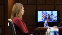 Kamala Harris grilling prompts doubtful claim from Amy Coney Barrett
