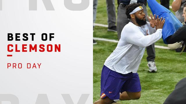 Best of Clemsons pro day