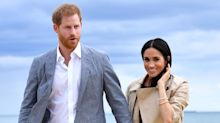 Meghan Markle's Flats Filled With Sand at the Beach and She Didn't Mind One Bit