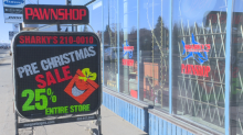 Pawnshops an option for Calgary's budget-conscious holiday shoppers