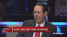 AT&T CEO: Sounds like court hearing on deal with Time War...