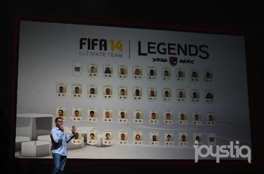 FIFA 14 getting legendary players for Ultimate Team on Microsoft consoles