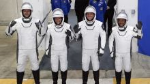 Crew launched to space station