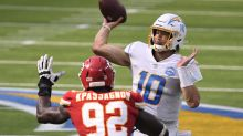 Chargers QB Justin Herbert shows up big in first NFL start, but Chiefs still come back to win in OT