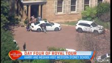 Day four of royal tour continues