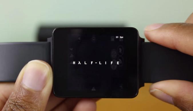 'Half-Life' barely runs on a smartwatch
