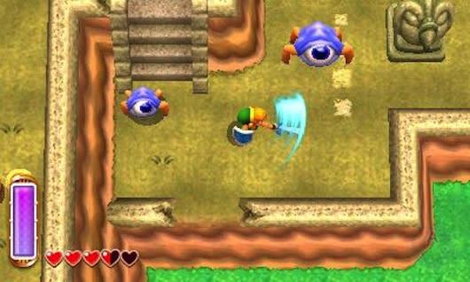 Zelda: A Link Between Worlds hides a crooked secret