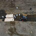 Drone Footage Shows Apparent Coronavirus Mass Grave At New York City's Hart Island