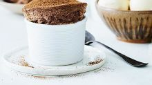 Lyndey Milan's Easter chocolate soufflés
