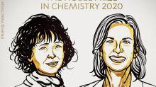 Le prix Nobel de chimie 2020 pour la Française Emmanuelle Charpentier et l'Américaine Jennifer Doudna