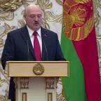 Macron meets exiled Belarus opposition leader