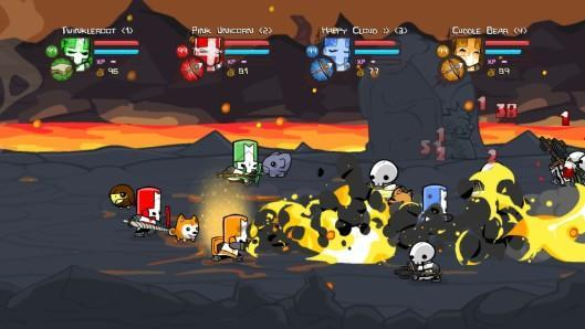 Castle Crashers character DLC now available on PSN