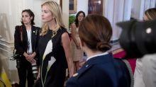 Ivanka Trump Wears $35 Target Dress and $4,290 J. Mendel Dress on the Same Day