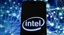 US STOCKS-Intel results push Wall Street higher