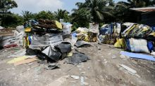 Report: Recyclable waste from UK found dumped here