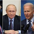 Putin says Trump is an 'extraordinary' and 'talented individual' who is an outsider to the US political establishment, unlike 'career man' Biden