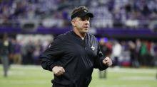 Sean Payton says mocking Vikings 'Skol' clap was 'good playoff fun'