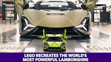 LEGO recreates the world's most powerful Lamborghini